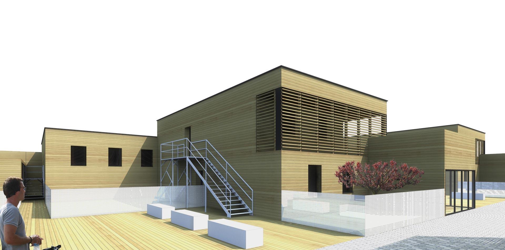 sof architectes un quartier vert pour la ville de moudon en suisse sof architectes. Black Bedroom Furniture Sets. Home Design Ideas