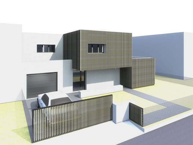 Maison individuelle Ecozac, eco-quartier Bois des Granges à Claye-Souilly