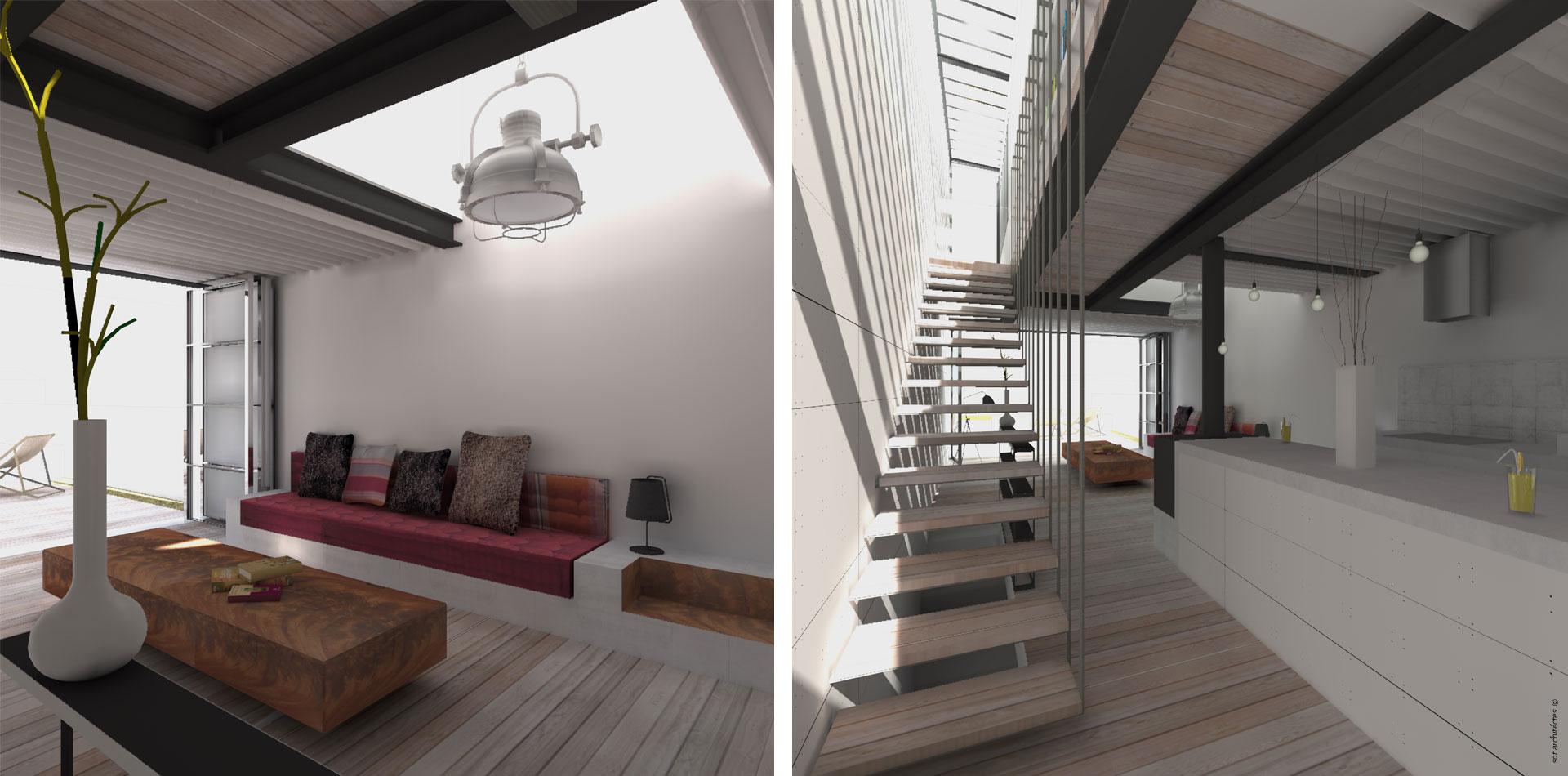 Sof architectes montreuilsof architectes for Cout verriere exterieure